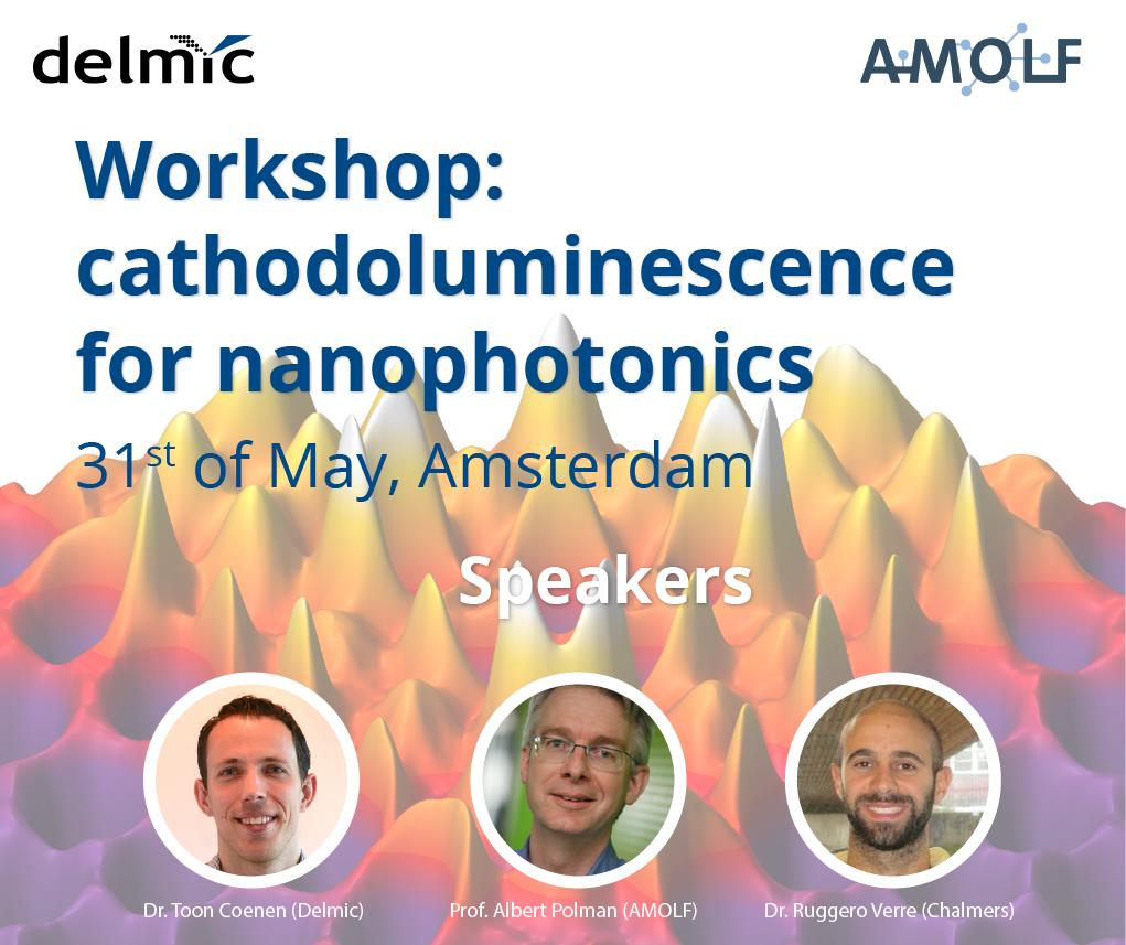 Workshop - Cathodoluminescence for Nanophotonics | AMOLF (Amsterdam)