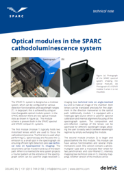 technical note optical modules sparc