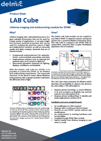 lab cube product sheet