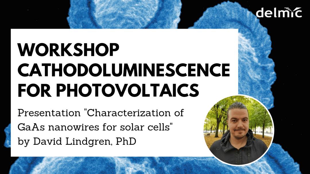 Speaker workshop cathodoluminescence for photovoltaics banner