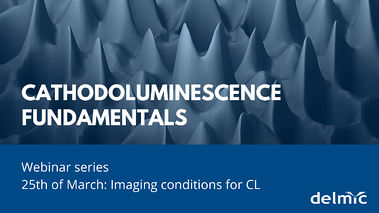 Imaging conditions for cathodoluminescence