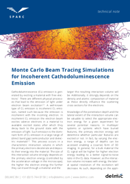 monte carlo beam tracing simulations for incoherent cathodoluminescence thumbnail