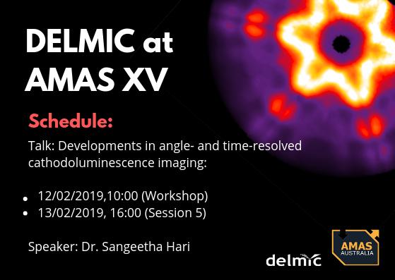 Meet Delmic in Australia at AMAS XV