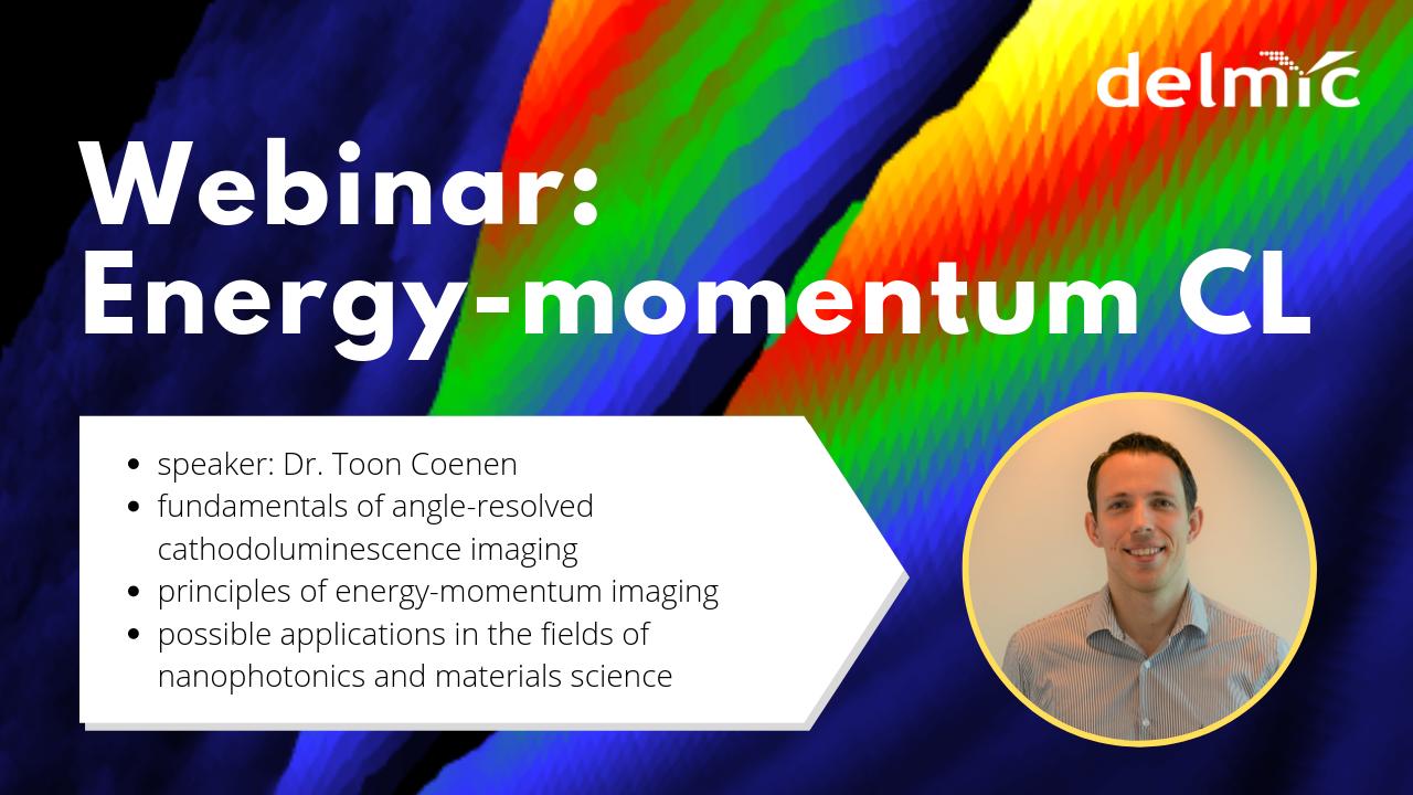 New energy-momentum cathodoluminescence technique explained in the upcoming webinar