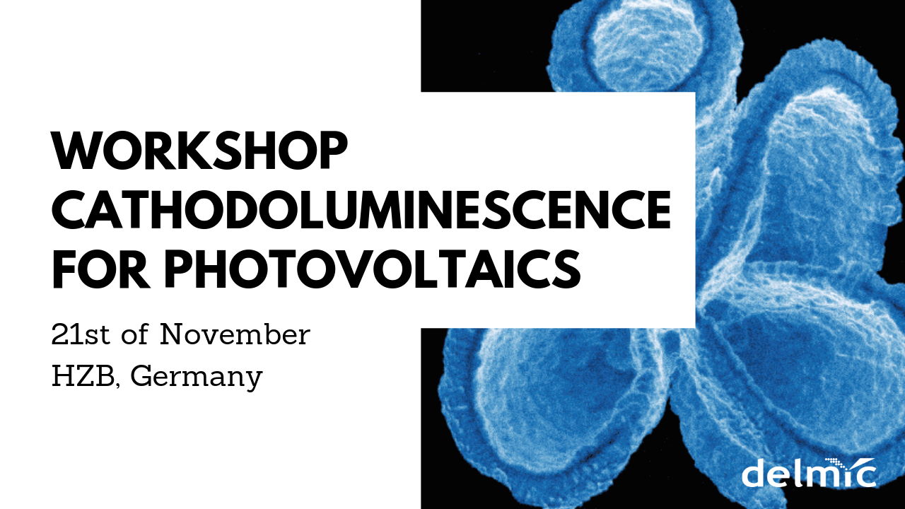 Join the workshop in Berlin to learn about cathodoluminescence for photovoltaics
