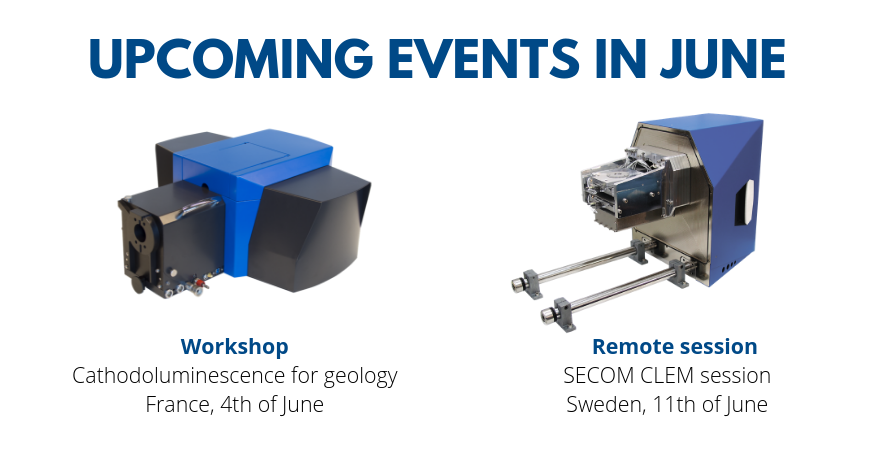 Meet Delmic in France and Sweden next month!