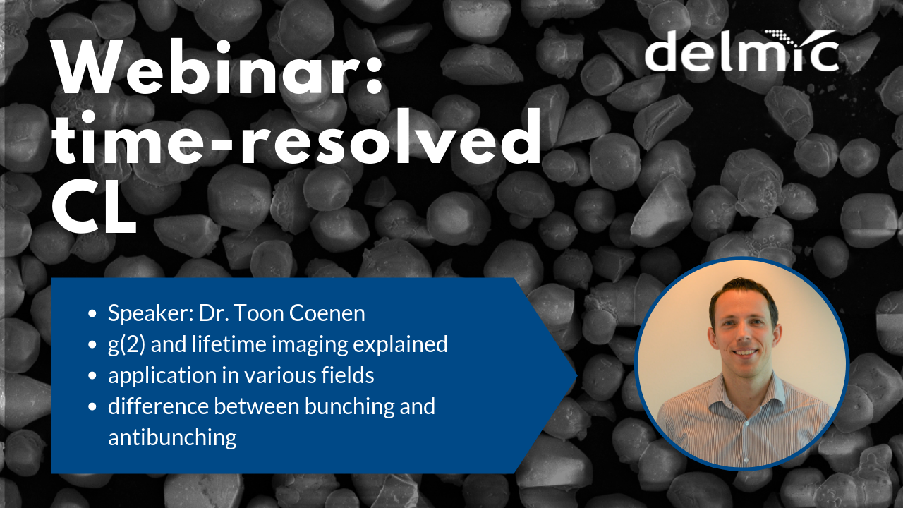 Join the first time-resolved cathodoluminescence webinar!